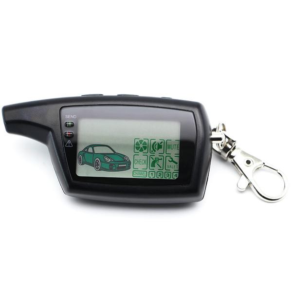 5 STÜCKE PANDORA DXL3000 Fernbedienung Schlüsselanhänger Kette Schlüsselbund für Russische Version Fahrzeugsicherheit Zweiwegautowarnungssystem