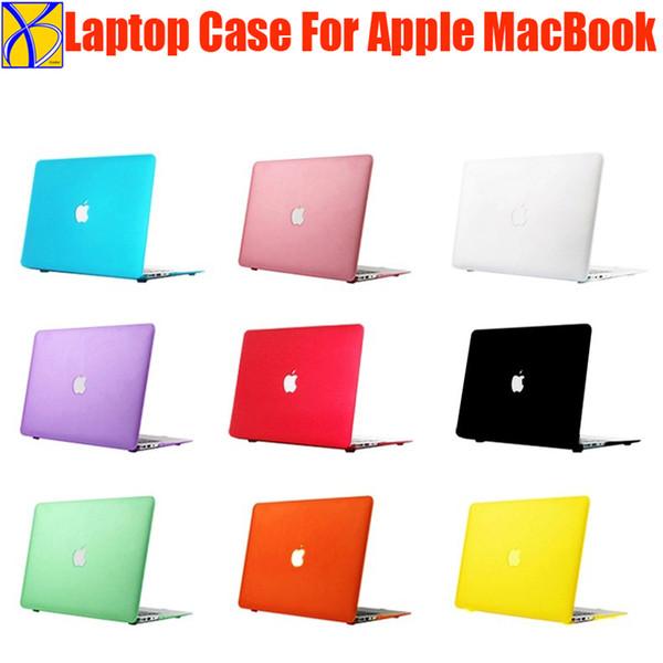 wholesale Crystal Matte Hard case For Apple mac book Air Pro Retina 11 12 13 15 Laptop Bag for Macbook Air 13 Plastic Case Cover