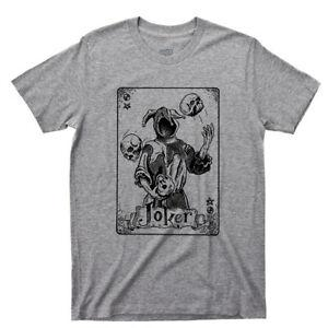 Joker T-shirt Carte à jouer échangeable Jester Ace Spade King Queen Hearts Tattoo