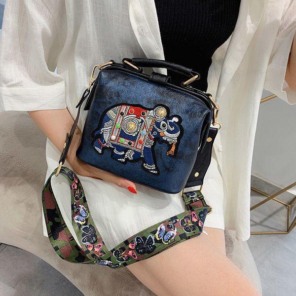 women bag Blue