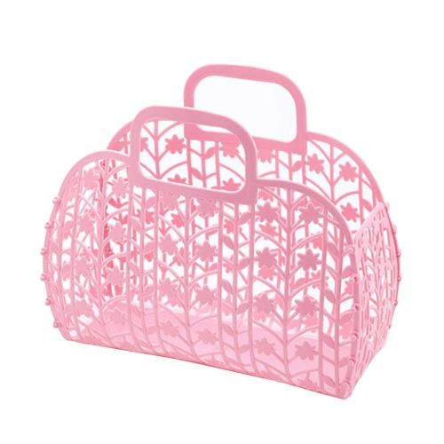 best selling Bathroom Hollow Wash Storage Detachable Shower Basket Plastic Bath Baskets Shopping Home Storages Organization
