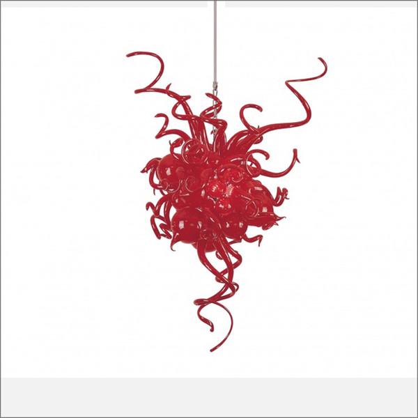 Пользовательские декоративные ручной выдувного стекла Чихули Люстра разработан уникальный Валентина Rose Color Hand выдувное стекло люстры свет