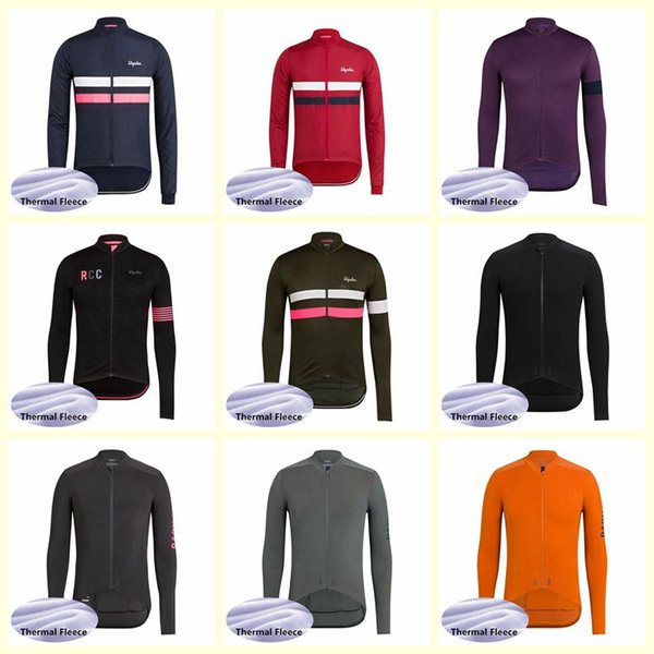 RAPHA team Cycling Winter Thermal Fleece jersey fashion Windproof Quick dry MTB Bicycle Clothing free delivery U52441