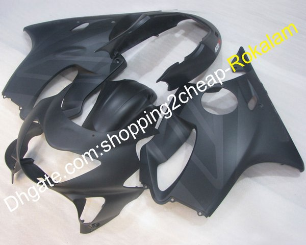 Customized Fairing For Honda CBR600 F4 1999 2000 CBR600F4 99 00 CBR 600 Matte Black Motorcycle Bodywork Parts Set (Injection molding)