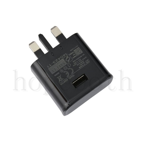 UK Charger Adapter Plug 5V 2A UK USB Wall Adapter For iPhone XR XS Samsung S7 S8 Cable OEM Copy high quality