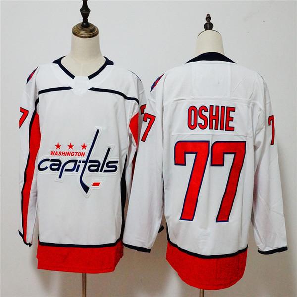 2018 Stanley Kupa Şampiyonları 8 Alex Ovechkin 43 Tom Wilson 77 T.J. Oshie 19 Nicklas Backstrom 70 Braden Holtby 92 Kuznetsov Hokey Forması