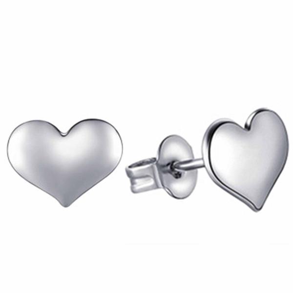 Старинные ювелирные изделия изысканный серебряный цвет сердца серьги современные красивые серьги для женщин