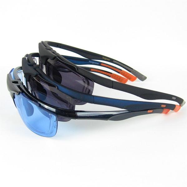 Radfahren Sonnenbrille Flip Up Sport Sonnenbrille klare Gläser im Inneren Unisex Designer Coole Schutzbrille 3 Farben