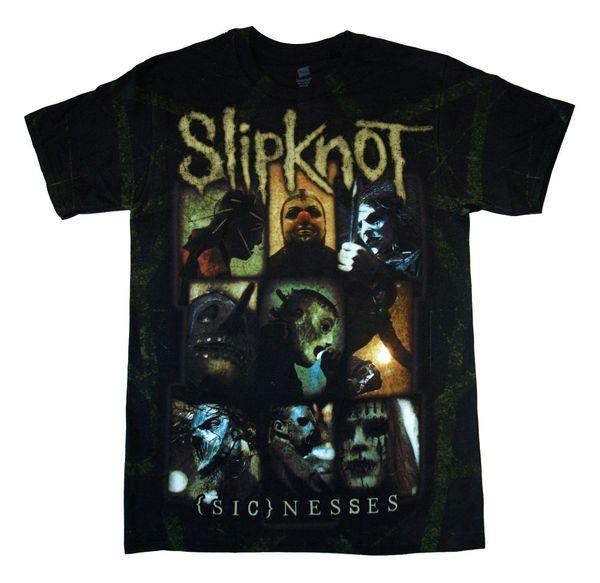 SLIPKNOT - Sickness - t shirt S,M,L,XL-2XL Brand New - Official Merchandise 2018 funny tee lovely summer t-shirt Tops