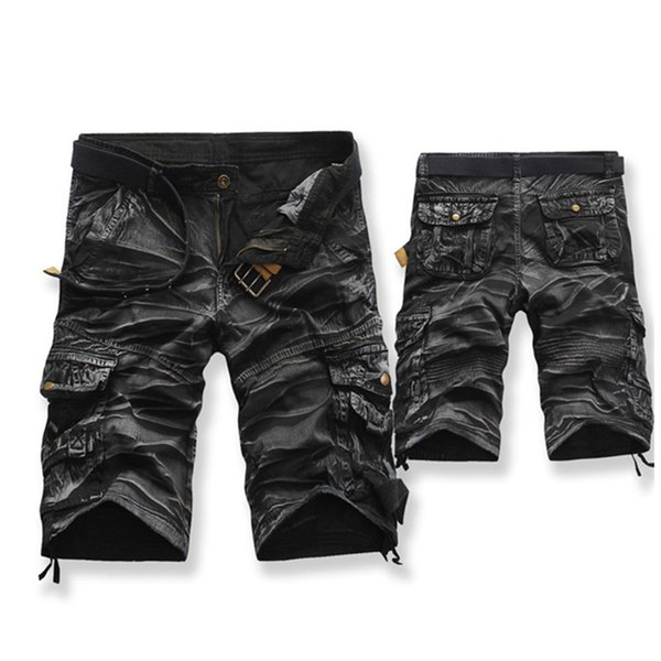 magasin 2019 meilleurs meilleures chaussures 2019 Brand Fashion Mens Bermuda Homme Casual Cargo Beach Shorts Men Summer  Beachwear Military Camouflage Short C19041701 From Lizhang03, $24.03 | ...