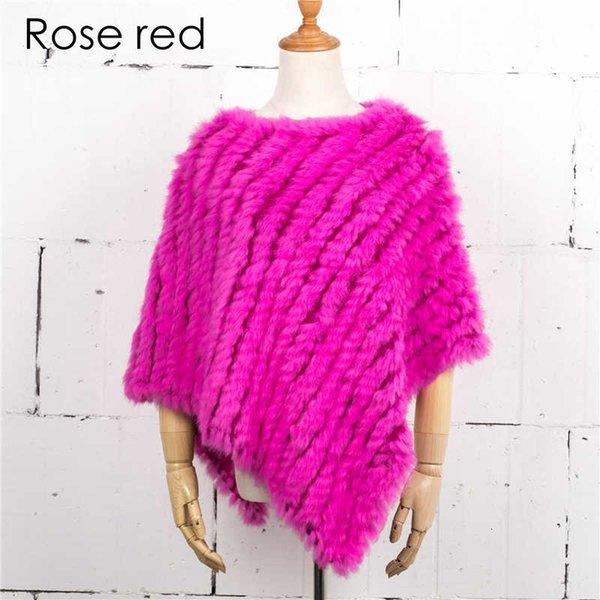 Rojo de la rosa