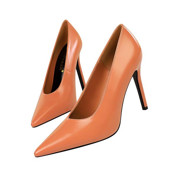 Slip-on Bayan Elbise Ayakkabı Kadın Topuklu Pompaları Yüksek Topuklu Festivali Parti Düğün Ayakkabı Stiletto Resmi Clubwear Ayakkabı Pompalar GWS625