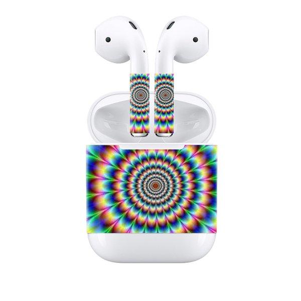 Fanstore Hot Sale Design Skin Sticker Protective Vinyl Decal Skin Cover for Apple Airpods