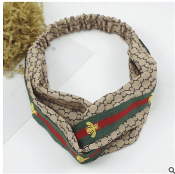 2019 frauen kopf band mädchen haarband blumendruck silk satin stoff haarband elastische turban haarschmuck