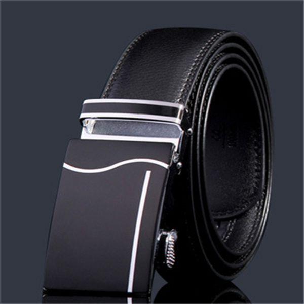 Nouveau vente chaude hommes de la mode ceintures noir blanc et colourfull couleur beau style de la Chine ceintures or boucles porte expédition avec boîte 8853110
