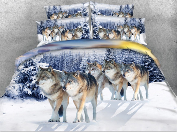 wolf bedding sets
