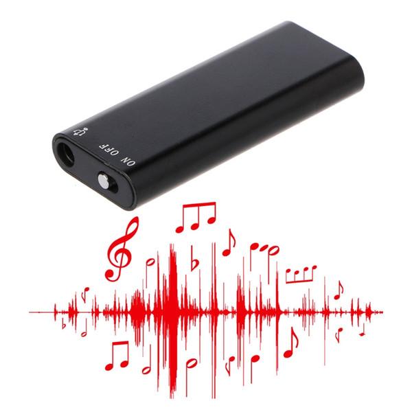 3-In-1 8GB Mini Digital Audio Voice Recorder MP3 Music Player USB Flash Drive