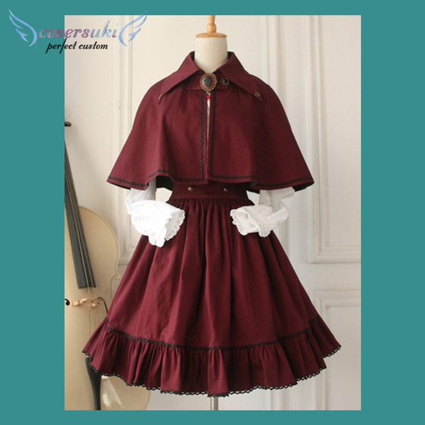 Costumes Accessories Collection Gothic Lolita Dress Cross Regression Victorian Vintage SK Lolita Skirt ! Newest!
