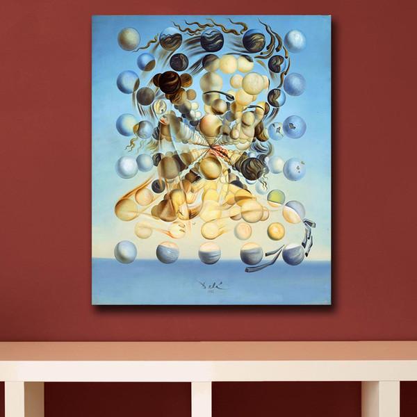 Salvador Dali Pictorial Art Canvas Painting Cuadro de pared para sala de estar Decoración moderna del hogar Pintura al óleo sobre lienzo Sin marco