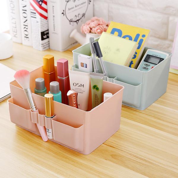 Home Decor Storage Box Desktop Sundries Stationery Make ups Cosmetic Storage Boxes Remote Control Storage Shelves