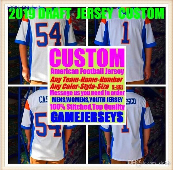 Personnalisé maillots de football américain Arizona Atlanta collège authentique rétro rugby baseball basketball jersey de hockey 4xl 5xl 6xl shop
