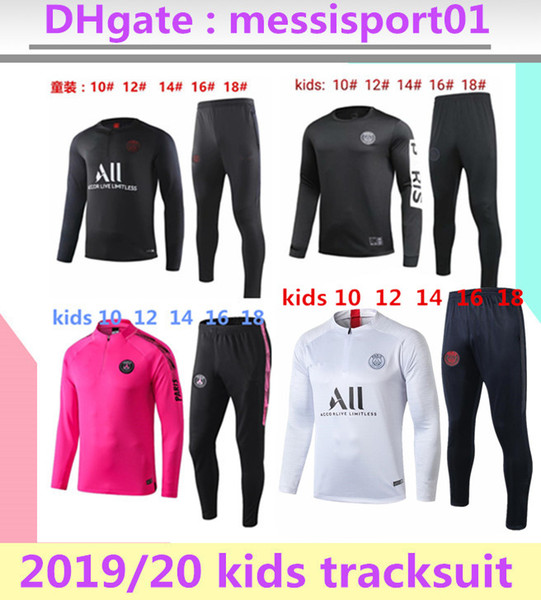 Grosshandel Kinder Paris Trainingsanzug 2019 2020 Paris Fussball Jogging Jacke 2019 2020 Paris Kind Fussball Trainingsanzug Von Messisport01 30 46 Auf