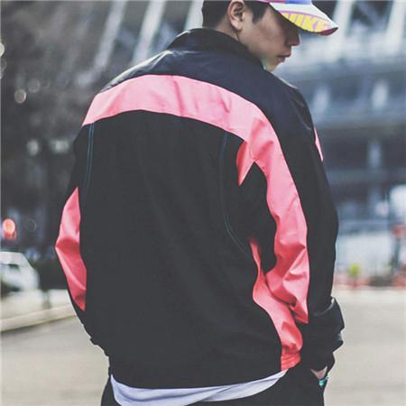 Mens Women Windbreaker Zipper Patchwork Coats Brand Outwear Jackets Hiphop Streetwear Designer Sweater Long Sleeve Sports LJJ98307
