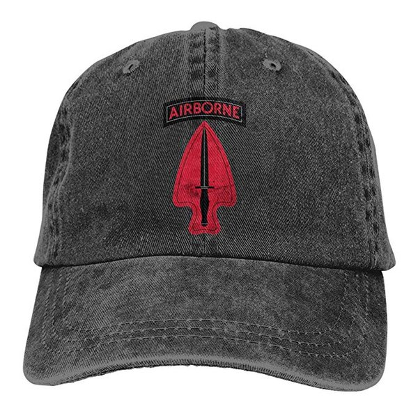 2019 New Cheap Baseball Caps US Army Retro 1st Special Forces Ent Delta SSI Mens Cotton Adjustable Washed Twill Baseball Cap Hat