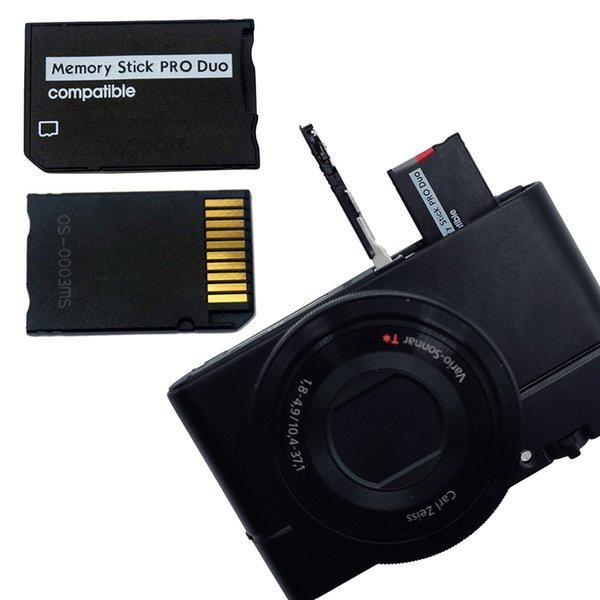 بطاقات الذاكرة الرخيصة Centechia Micro SD إلى ذاكرة محول بطاقة محول عصا محول PSP SOPPORT CLASS10 ل Micro SD 2GB