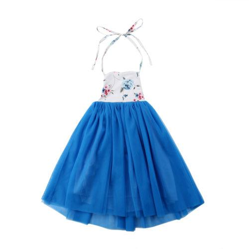 Toddler Kids Baby Bibs Girls Belt Backless Lovely Print Dress Lace Solid Party Wedding Bridesmaid Long Dress Children Clothing Toddler Kids Baby Bibs Girls Belt Backless Lovely Print Dress Lace Solid Party Wedding Bridesmaid Long Dress Children Clothing