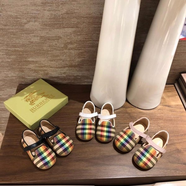 Designer 1-3 anni scarpe da bambino 2019 nuovo neonate molli pattini della principessa inferiore bambini scarpe casual marea A616