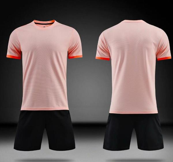 Soccer Jersey Sets Football Wear Shirt + Pants Sports Suit Kids soccer jersey Sports clothes breathable men's soccer jersey set
