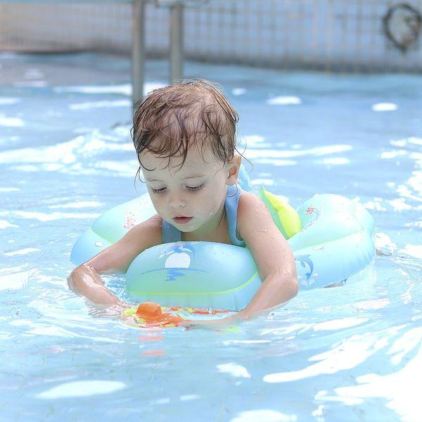 Baby Swimming Ring Inflatable Infant Armpit Floating Kids Swim Circle UK