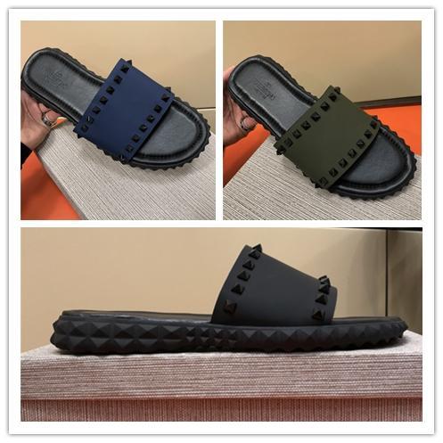 Brand Men Scuffs Sandals Designer Shoes Luxury Designer Slide Spring Summer Hot Selling Fashion Trend Wide Flat Slippery Slipper Flip Flop