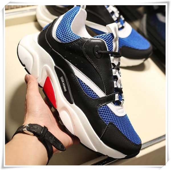 2019 men's spring and autumn casual shoes, designer high-quality travel outdoor driving shoes, a generation of original boxes