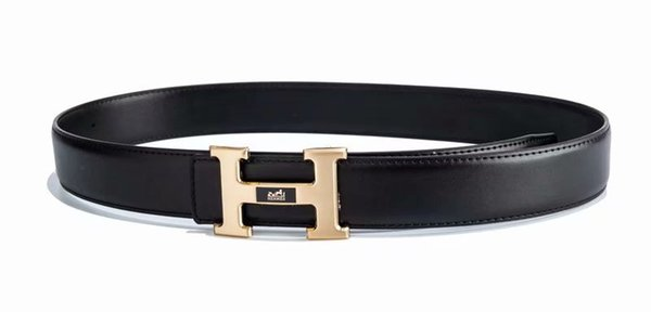 wei9002 / The new men's belt buckle joker ping chao middle-aged young head layer cowhide belt belts for men