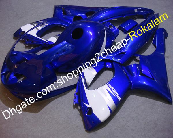 Carenado Yzf 600R para Yamaha Yzf600R Thundercat 97 98 99 00 01 02 03 04 05 06 07 YZF-600R Carenado azul blanco Carrocerías