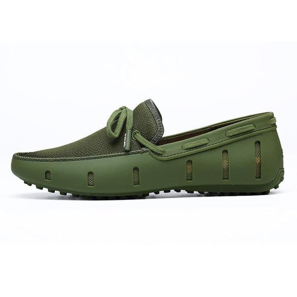 Ventilate Boat Shoes 2018 Slip On Shoes Summer Comfortable Men's Loafers 20D50 n096