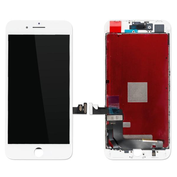 100% probado 8 Plus Pantalla táctil Digitalizador Pantalla LCD Ensamblaje Piezas de reparación de teléfonos celulares de 5.5 pulgadas Sin píxeles muertos para Iphone 8 más