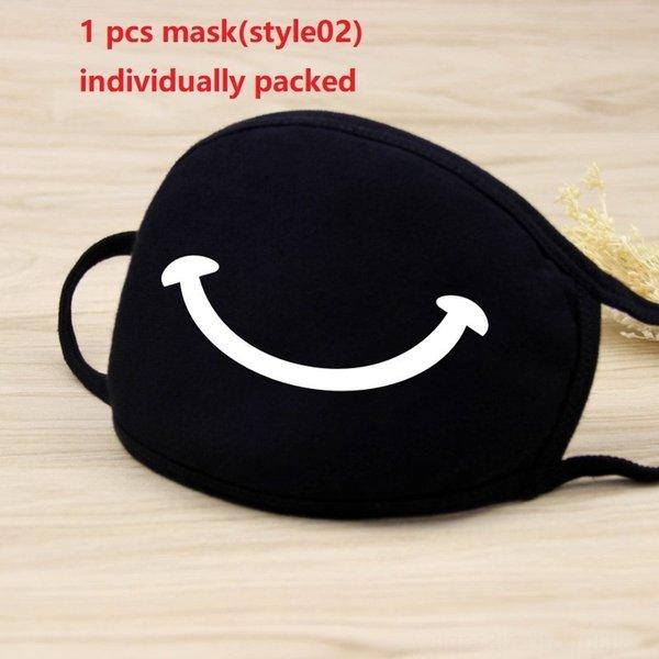 1pc maschera nera (style02)