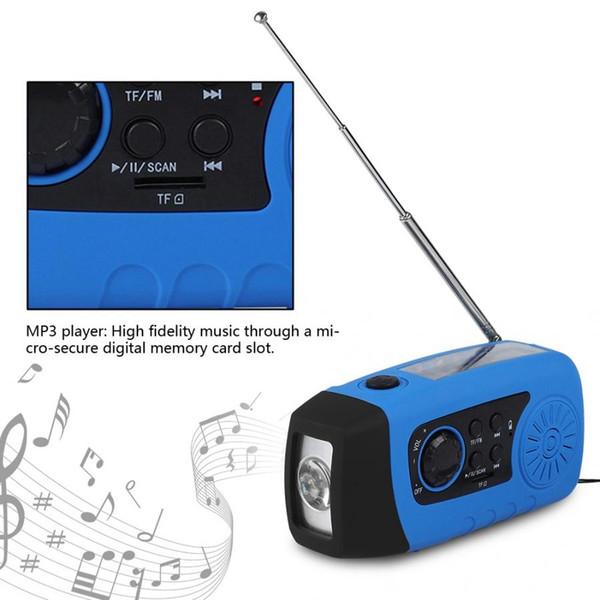 NOVITÀ Ricevitore radio digitale Dab Radio Altoparlante portatile portatile a energia solare con LED Mp3 audio Altoparlante radiocard FM