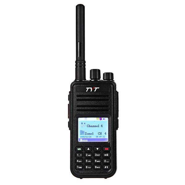 TYT MD-380 DMR tragbares Walkie Talkie Digital 2-Wege-Funkgerät bunte LCD-Anzeige UHF 400-480MHz für Mototrbo Tier I / II