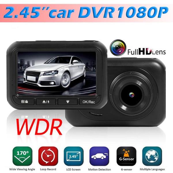 Q2 Full HD 1080p Cámara DVR del coche IMX323 Sensor Aparcamiento Monitor Dash Cam Driving Record