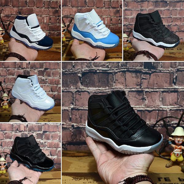 Kids Air Cheap 11 II Children's Boys Basketball Shoes Sneakers Youth Boy Girls Athletic Cheap j11 Sports Run Kids Basket Shoes