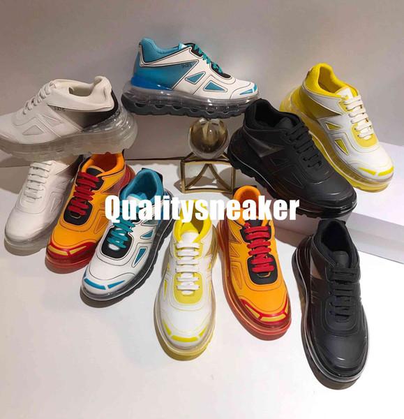 2019 New Release Paris Triple S 53045 Gonfiabile Crystal Bottom Luxury Old Dad Shoes Piattaforma Combinazione Bottom Sneakers Uomo Donna Vintage