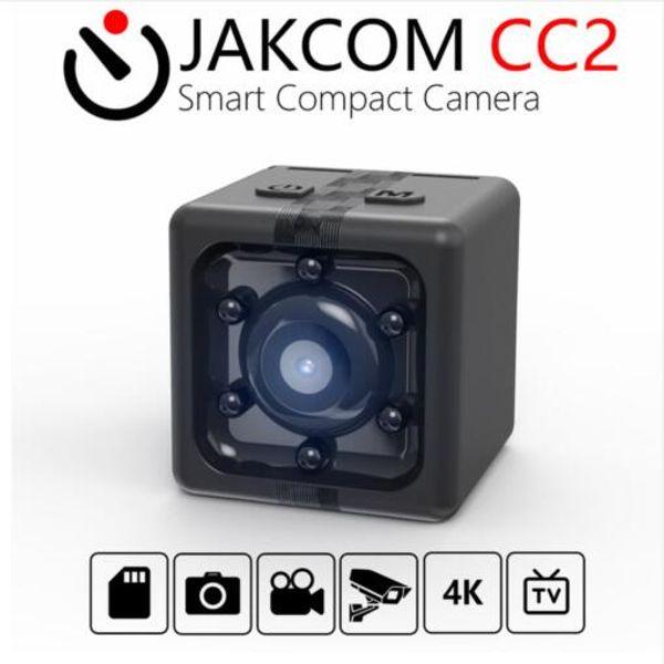 2019 Sıcak Satış JAKCOM CC2 Akıllı Kompakt Kamera Sıcak Satış Mini Kamera olarak TAM HD 1080 P MINI POCKET DVR GECE VISION GENIŞ AÇıK