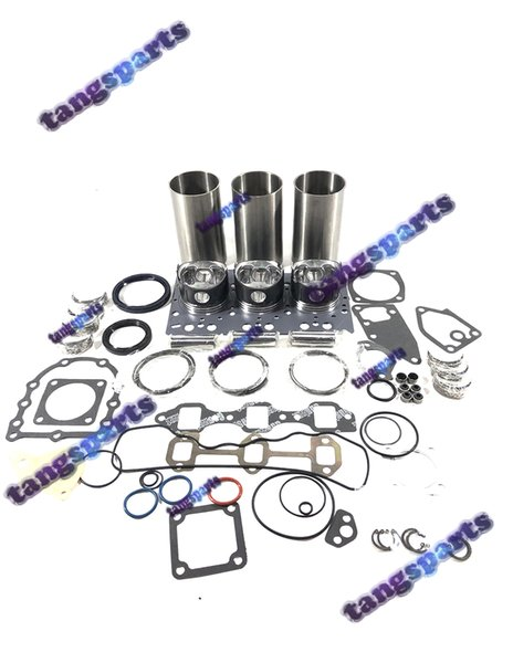 3TN72 двигателя Перестроить Комплект для YANMAR части двигателя бульдозера Вилочный Экскаватор Погрузчики и т.д. комплекта деталей двигателя