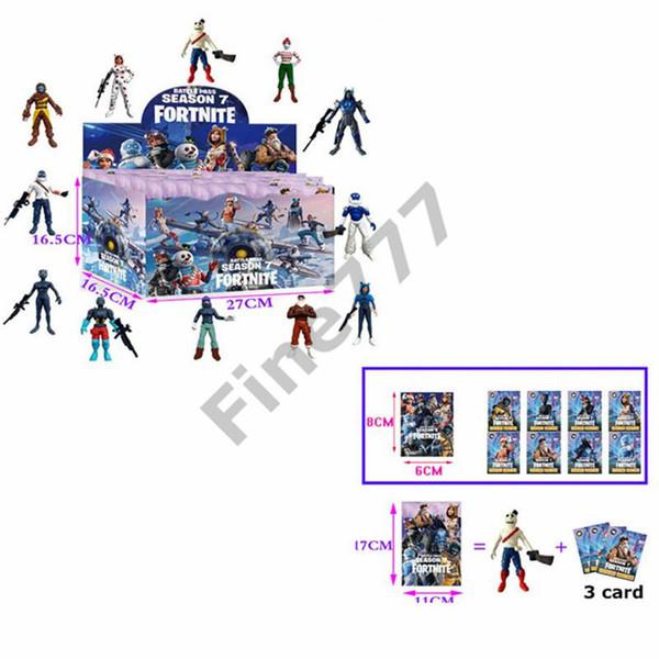 Fortnite Doll toys with card 2019 New kids 15cm 4.5' Cartoon game fortnite llama skeleton role Figure Toy lol