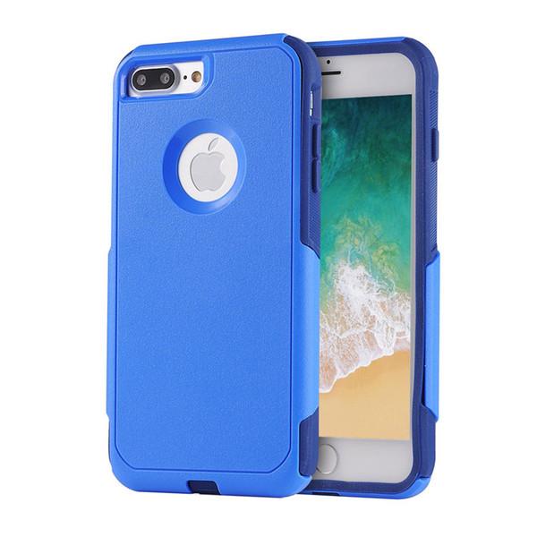 Cover posteriore rigida antiurto per paraurti rigido in TPU e custodia protettiva ibrida per iPhone X XS 6 7 8 Plus Custodia Samsung S10 S10E con confezione al dettaglio