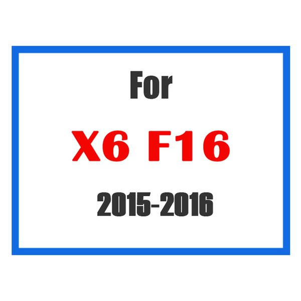 For X6 F16 15-16
